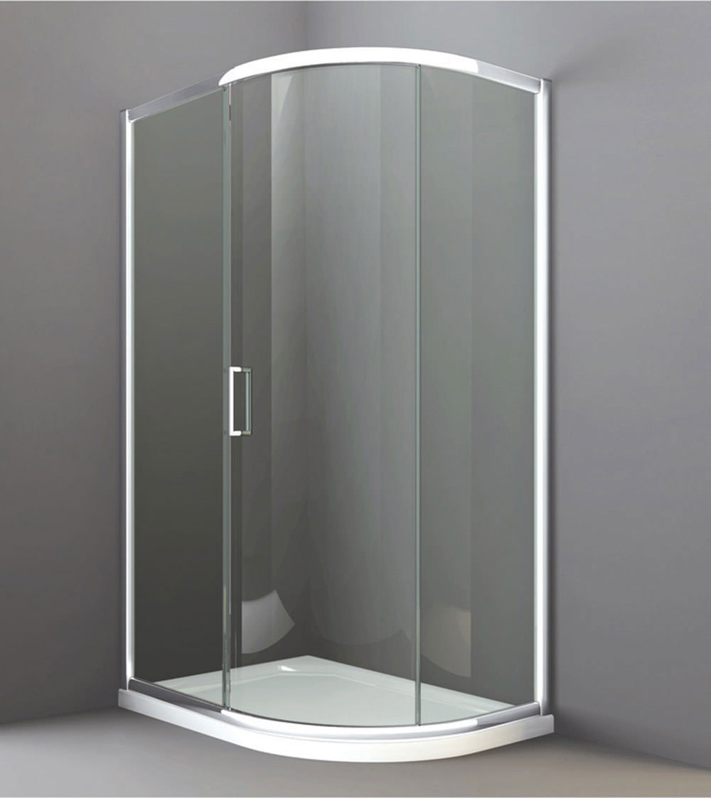 Merlyn 8 Series 1200 X 800mm 1 Door Offset Quadrant Enclosure