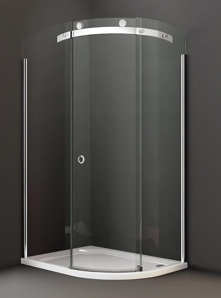 Merlyn 10 series 1200 x 800mm 1 door lh offset quadrant for Door quadrant
