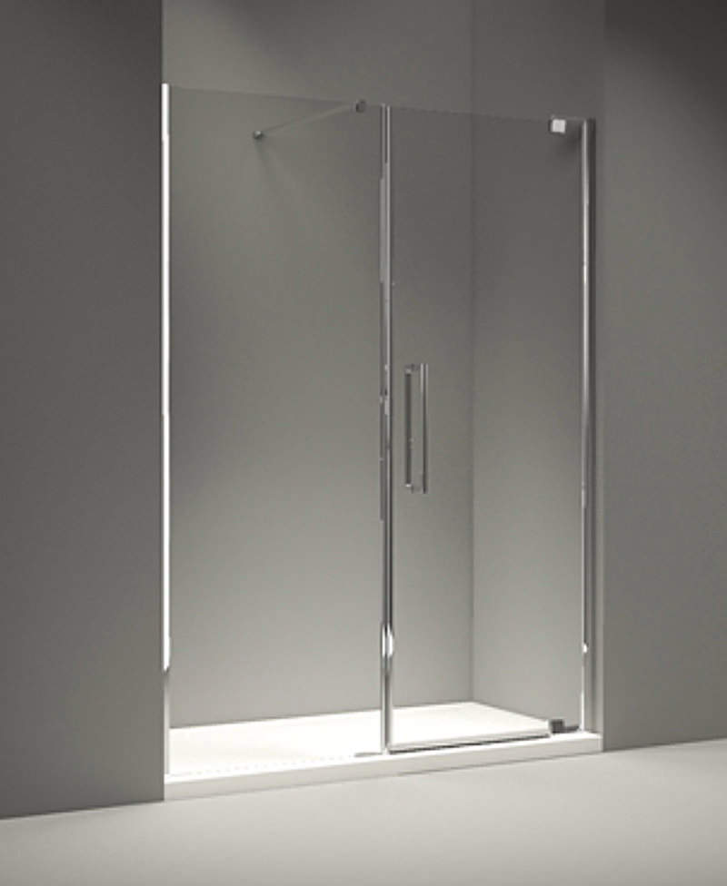 Merlyn 10 Series 1800mm Pivot Door And Inline Panel