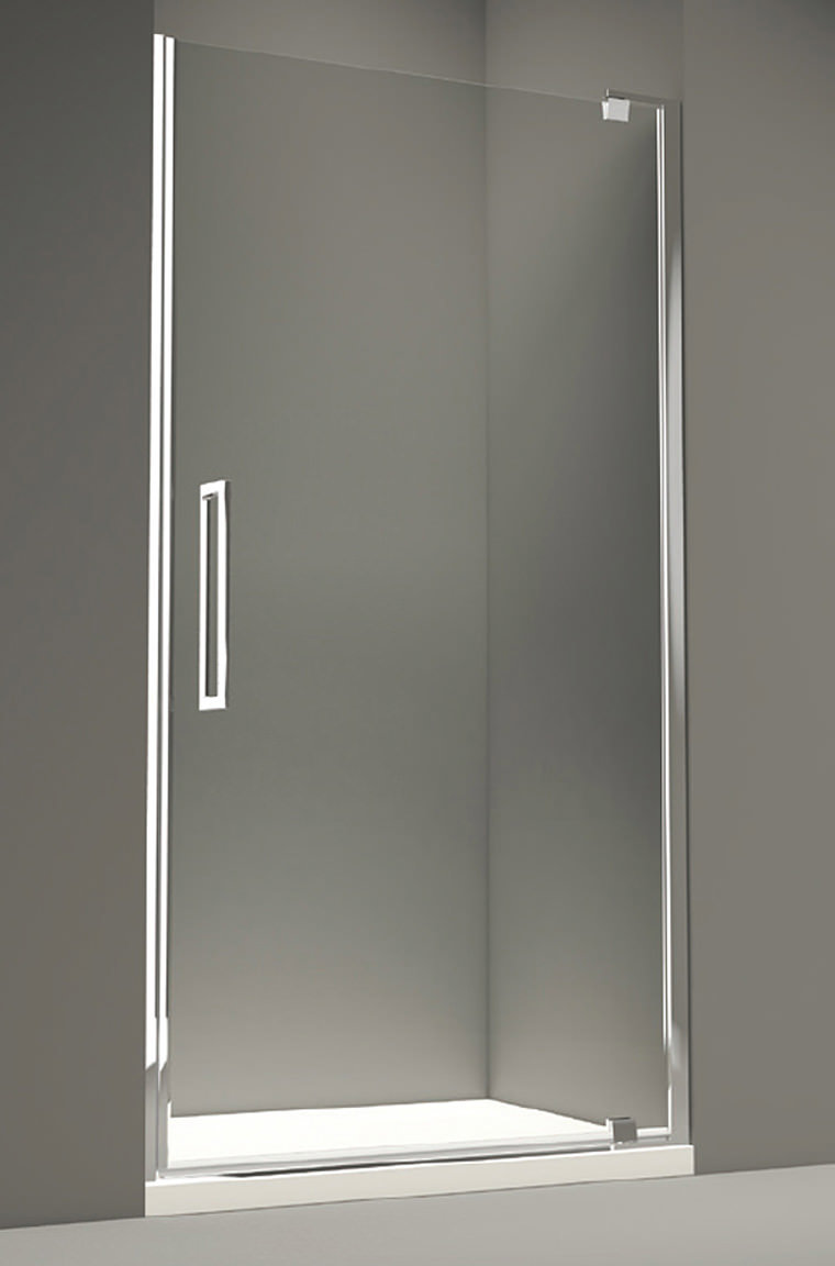 Merlyn 10 Series 800mm Clear Glass Pivot Shower Door M101211c
