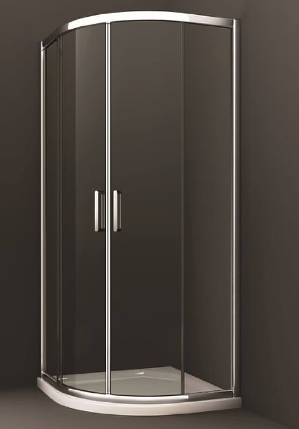 Merlyn 8 series 800 x 800mm 2 door quadrant shower enclosure for Door quadrant