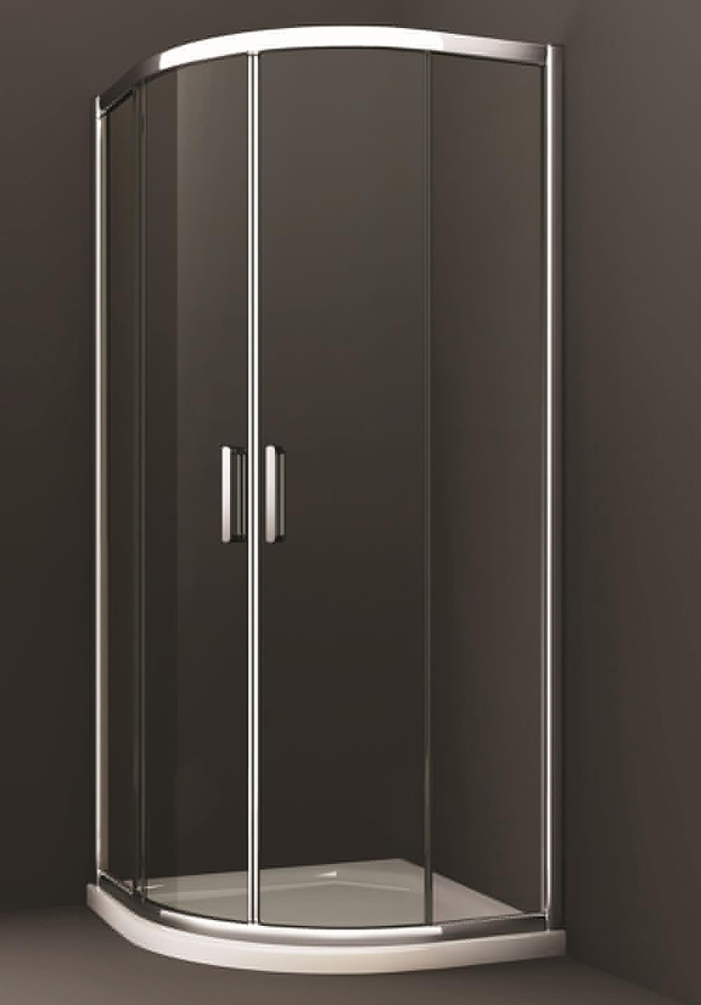 Merlyn 8 Series 1000 X 1000mm 2 Door Quadrant Shower Enclosure