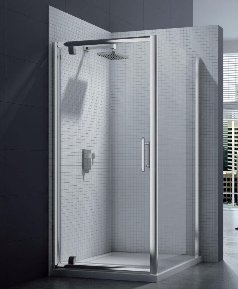 Merlyn 6 Series 8mm Clear Glass Pivot Shower Door 760 800mm