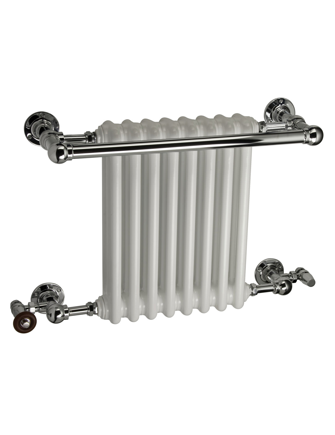 Dq Heating Ashill Traditional Wall Mounted Towel Rail 694