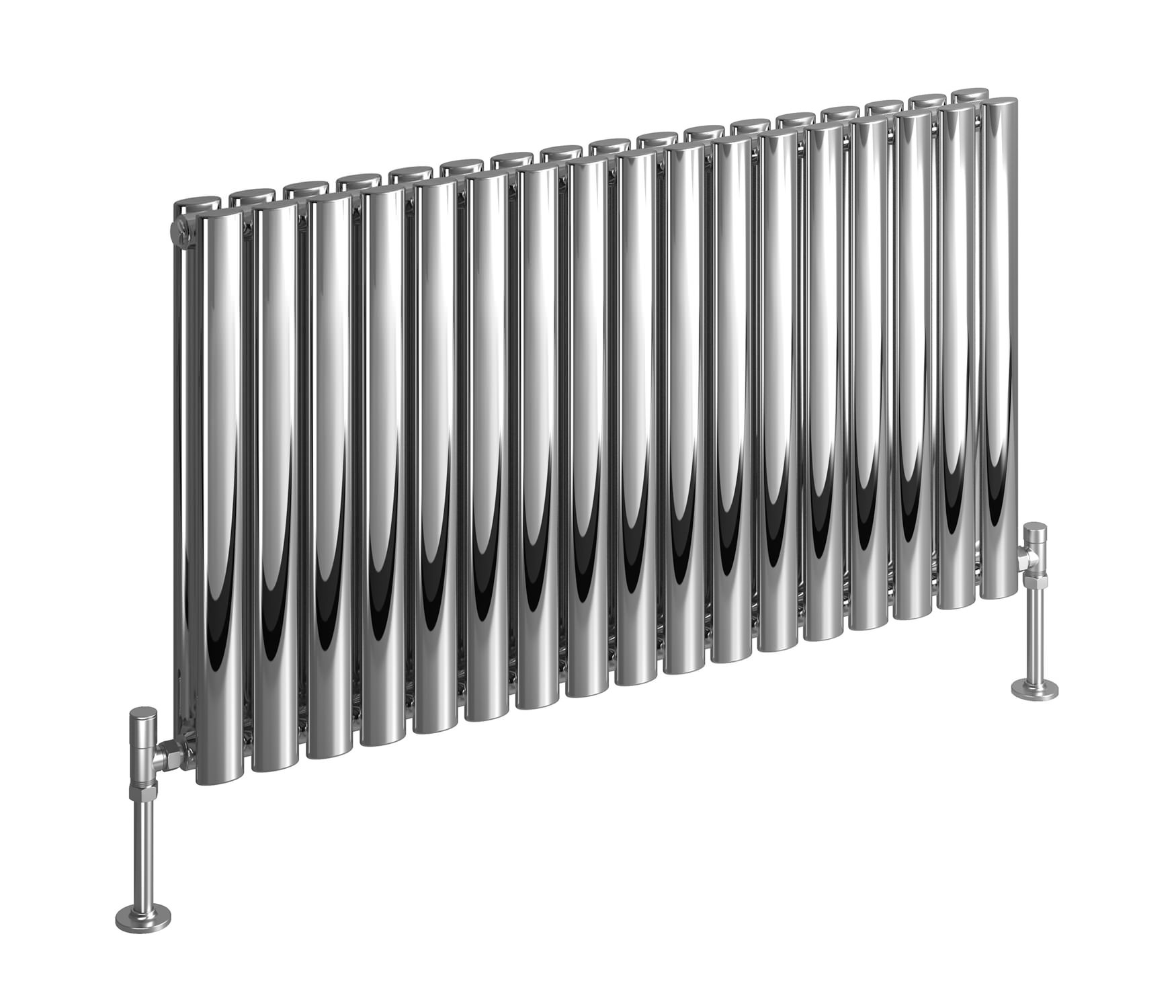 Dq Heating Cove 413 X 600mm Double Panel Stainless Steel