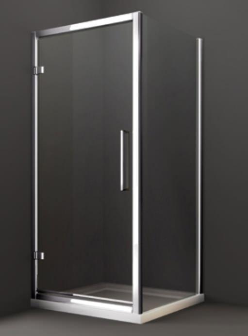 Merlyn 8 series 1000 x 1950mm hinge shower door m81231 for 1000 pivot shower door