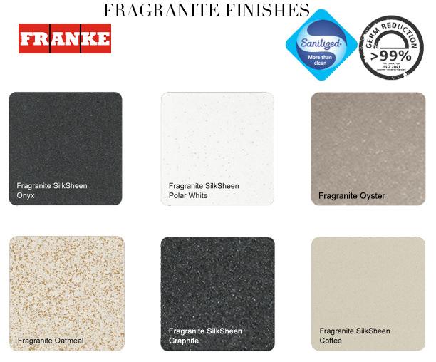 Franke Calypso Propack Cog 651 Fragranite Graphite Sink