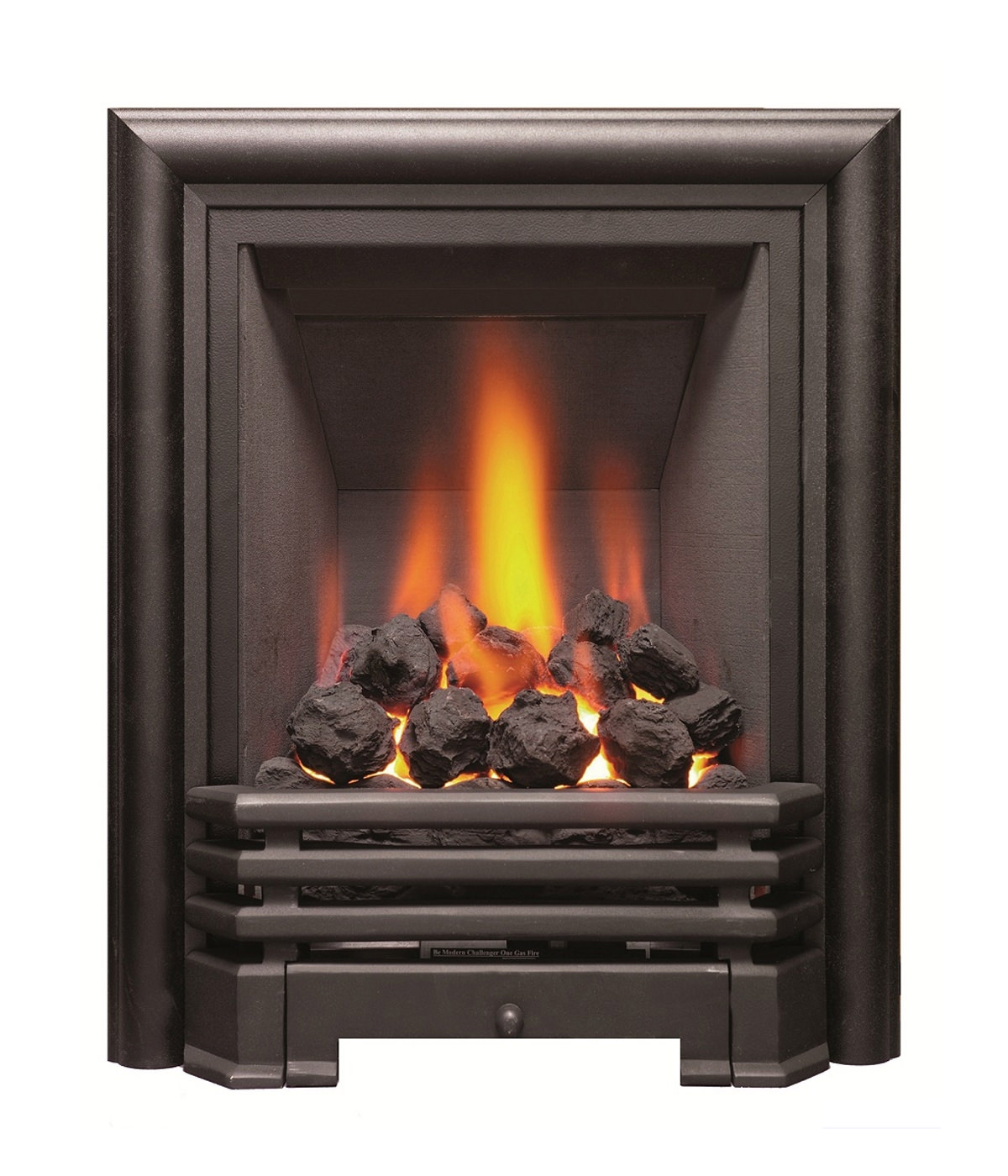 Be Modern Savannah Slimline Inset Gas Fire Black-Coal - 81078