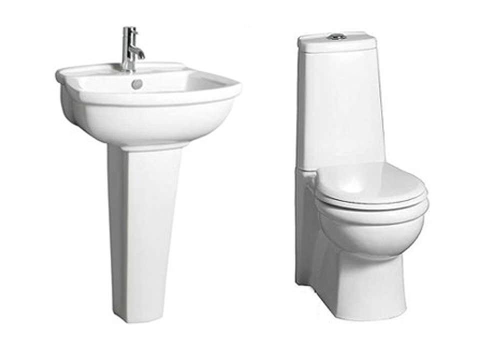 Space Saver Bathroom Sink : ... bathrooms bathroom suites elite space saver bathroom suite from lauren
