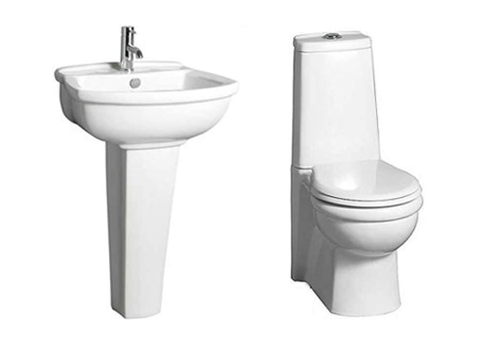Space Saver Bathroom Sink : ... bathrooms bathroom suites elite space saver bathroom suite from lauren