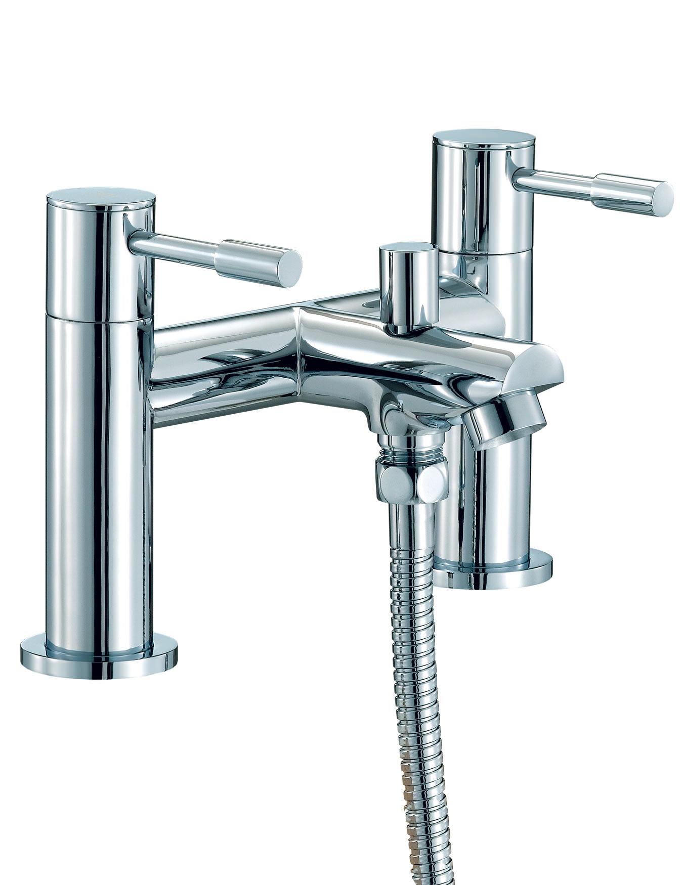Bath Taps: Mayfair Series F Bath Shower Mixer Tap With No1 Kit