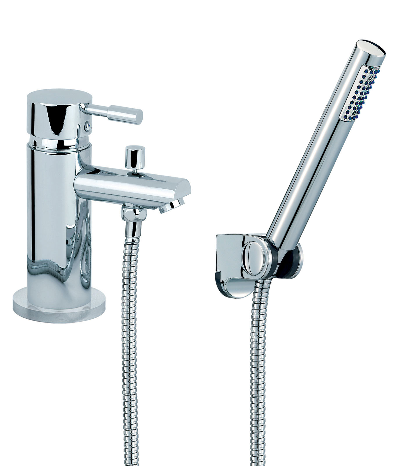 Mayfair f series one hole bath shower mixer tap sfl050 for Bathroom taps