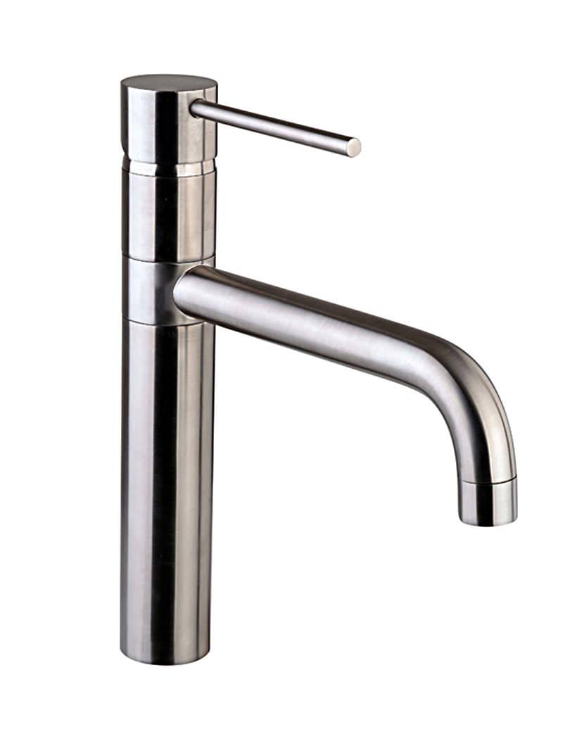 mayfair ascot brushed nickel kitchen sink mixer tap kit017