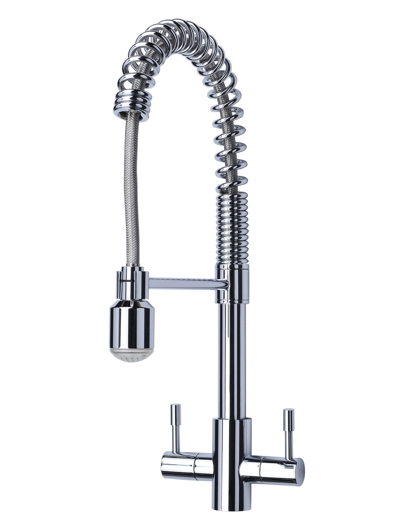 Mayfair Groove Kitchen Sink Mixer Tap Chrome - KIT173
