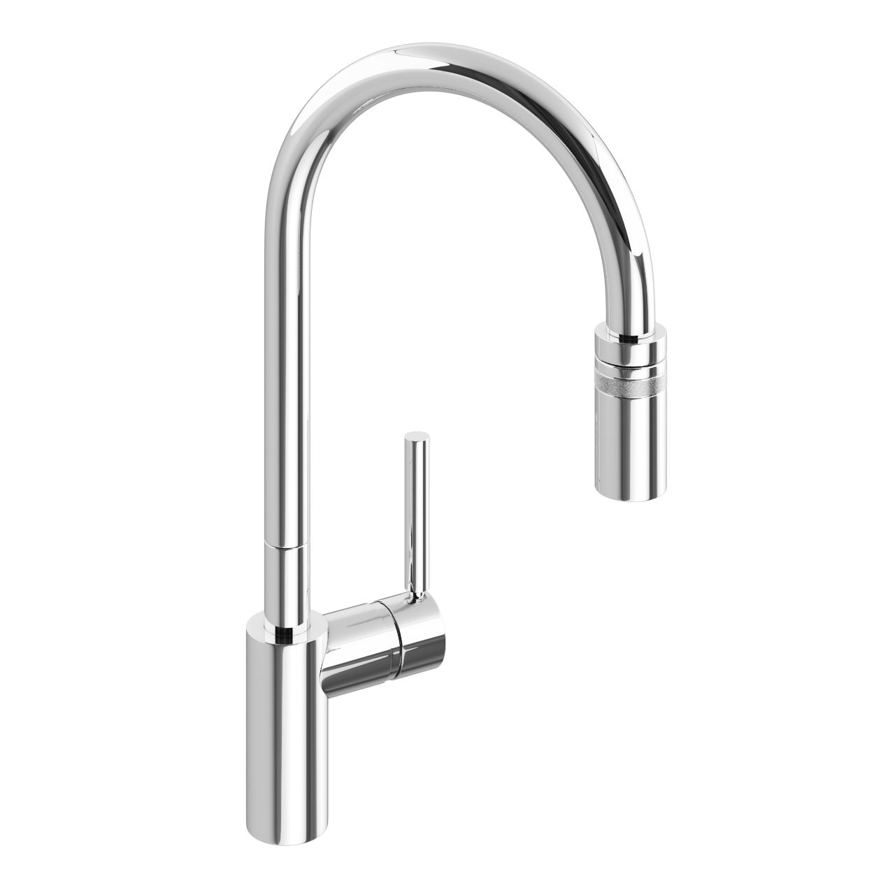 Abode ratio single lever pull out kitchen mixer tap at1049 for Bathroom taps
