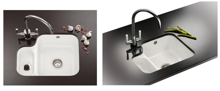 Franke V And B Vbk 160 Ceramic 1 5 Bowl Undermount Kitchen