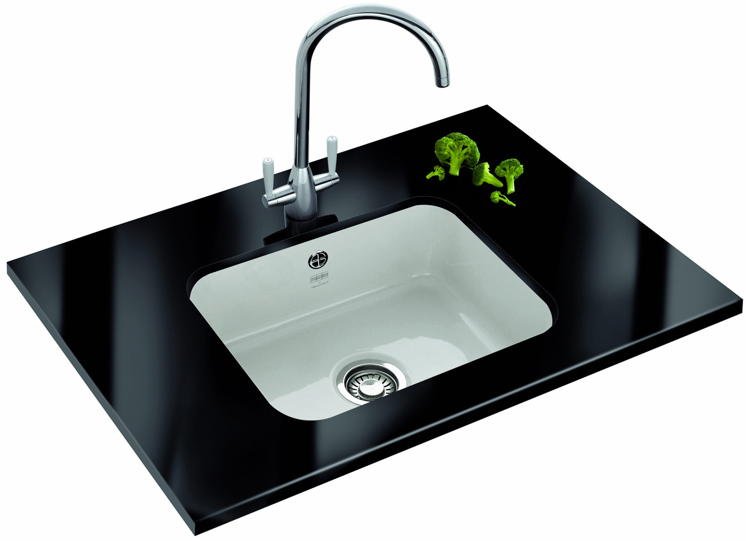 ... of Franke V And B VBK 110 50 Ceramic 1.0 Bowl Undermount Kitchen Sink