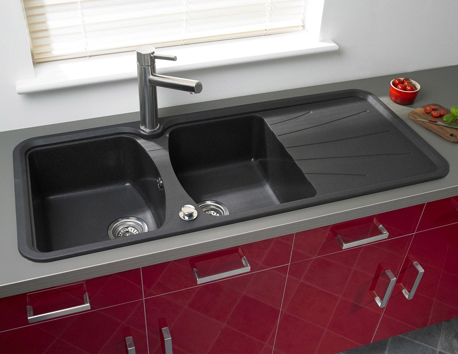 Astracast Korona 2.0 Bowl Composite ROK Metallic Inset Sink ...