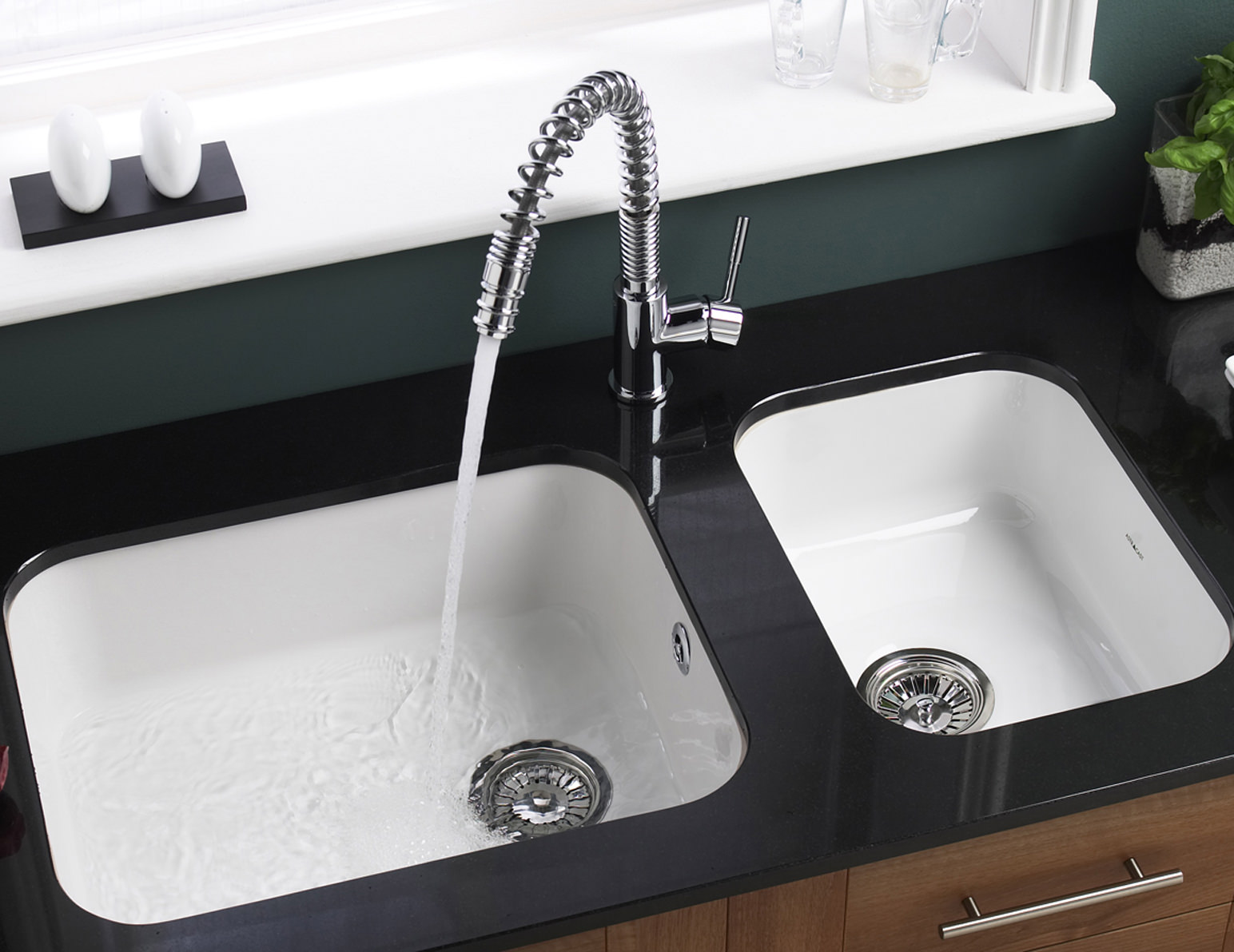 Astracast lincoln 5040 main bowl ceramic gloss white - Undermount ceramic kitchen sink ...