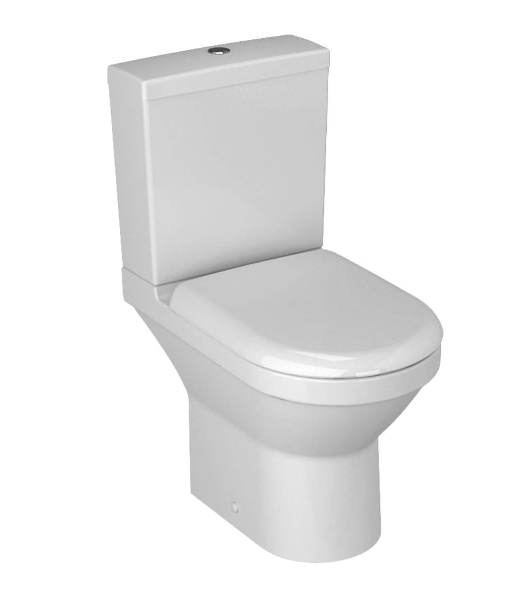 Vitra S50 Compact Close Coupled Open Back Wc With Cistern