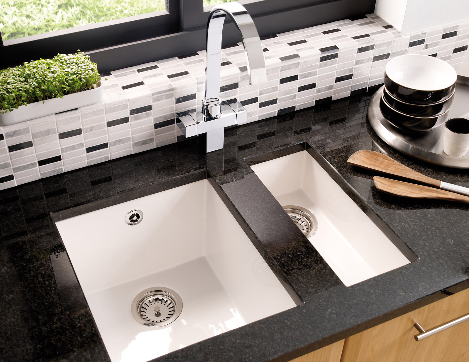 white inset kitchen sink astracast onyx 0 5 bowl ceramic inset or undermount 1319