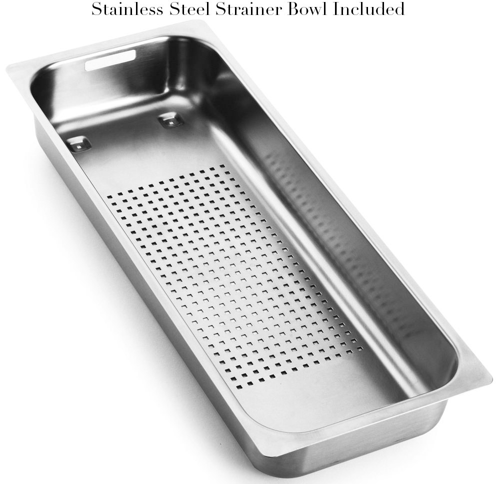 Best Rated Stainless Steel Sinks : ... MMX 251 Slim-Top 1.5 Bowl Stainless Steel Inset Sink 1270364673