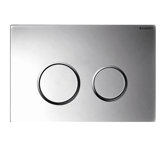 geberit sigma20 plastic dual flush plate matt gloss chrome. Black Bedroom Furniture Sets. Home Design Ideas