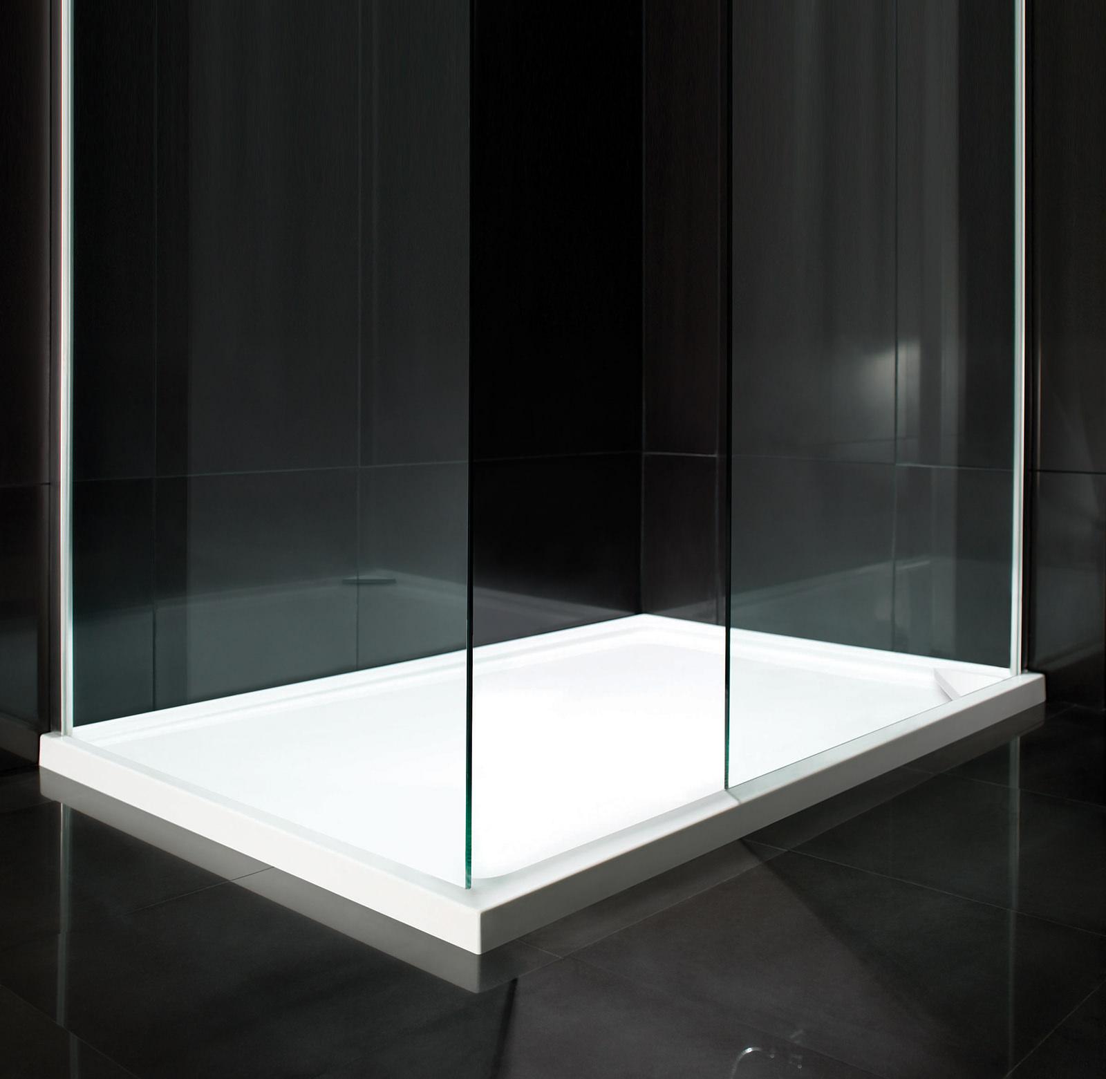 aquadart rectangular shower tray 900 x 800mm aq2503. Black Bedroom Furniture Sets. Home Design Ideas