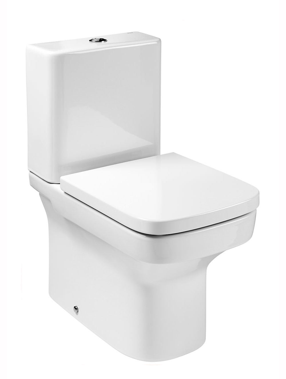 Roca Dama N Compact Close Coupled Wc Pan With Fixing 600mm