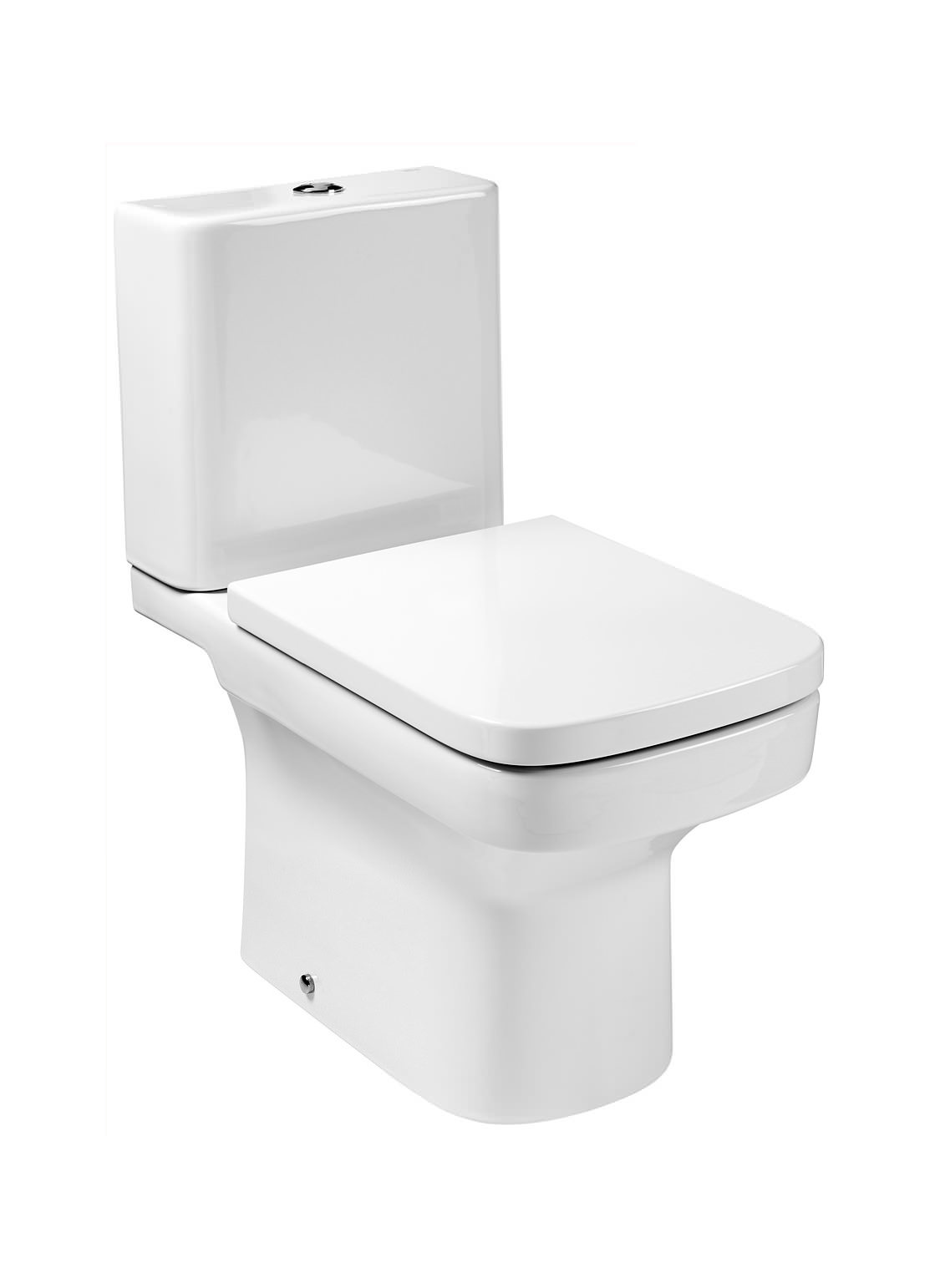 Roca Dama N Close Coupled WC Pan With Fixing Kit 660mm 342787000