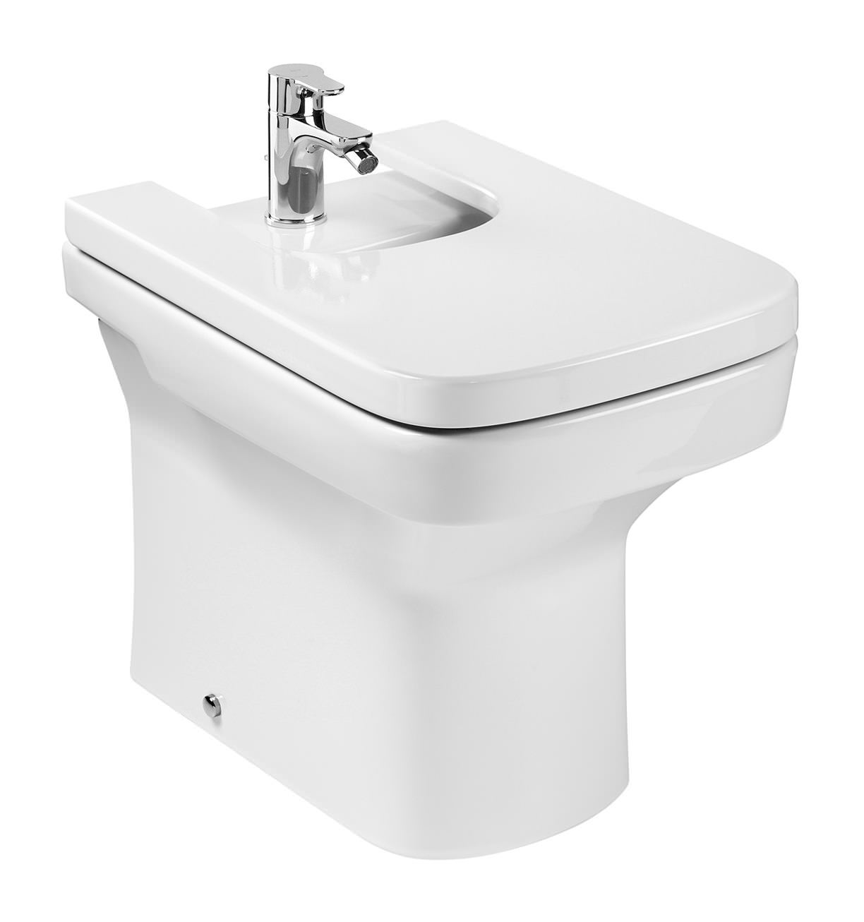 roca dama n compact back to wall bidet 520mm 357787000