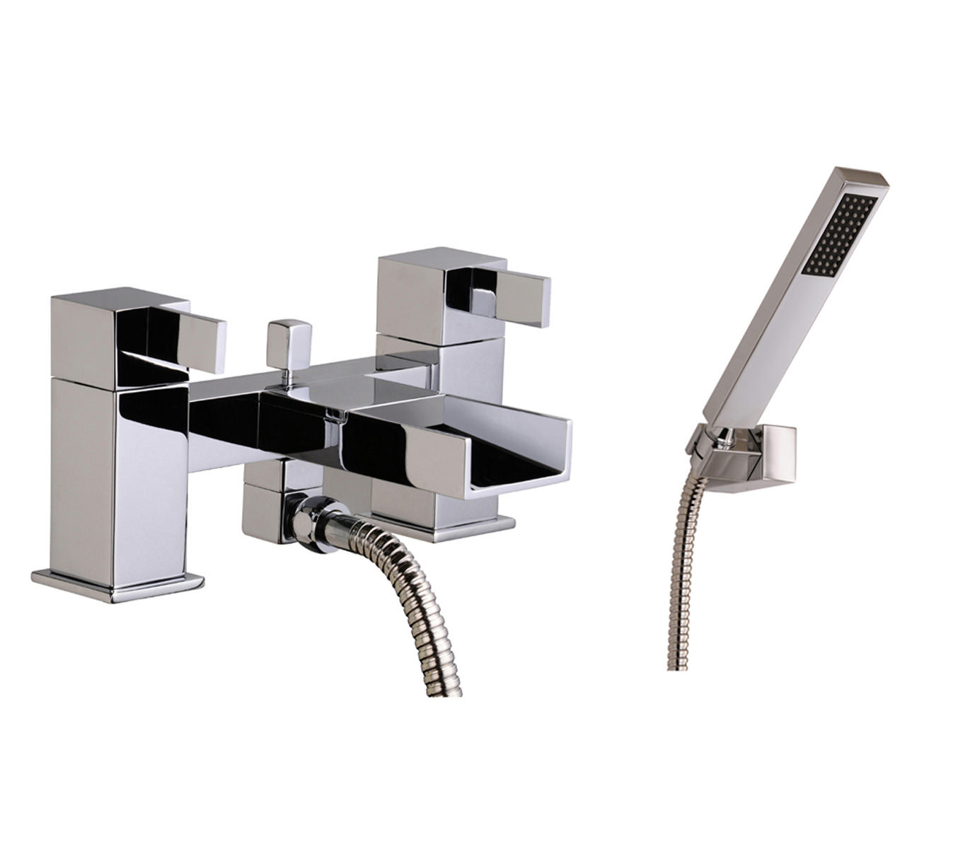 Mayfair Dream Waterfall Bath Shower Mixer Tap With Shower
