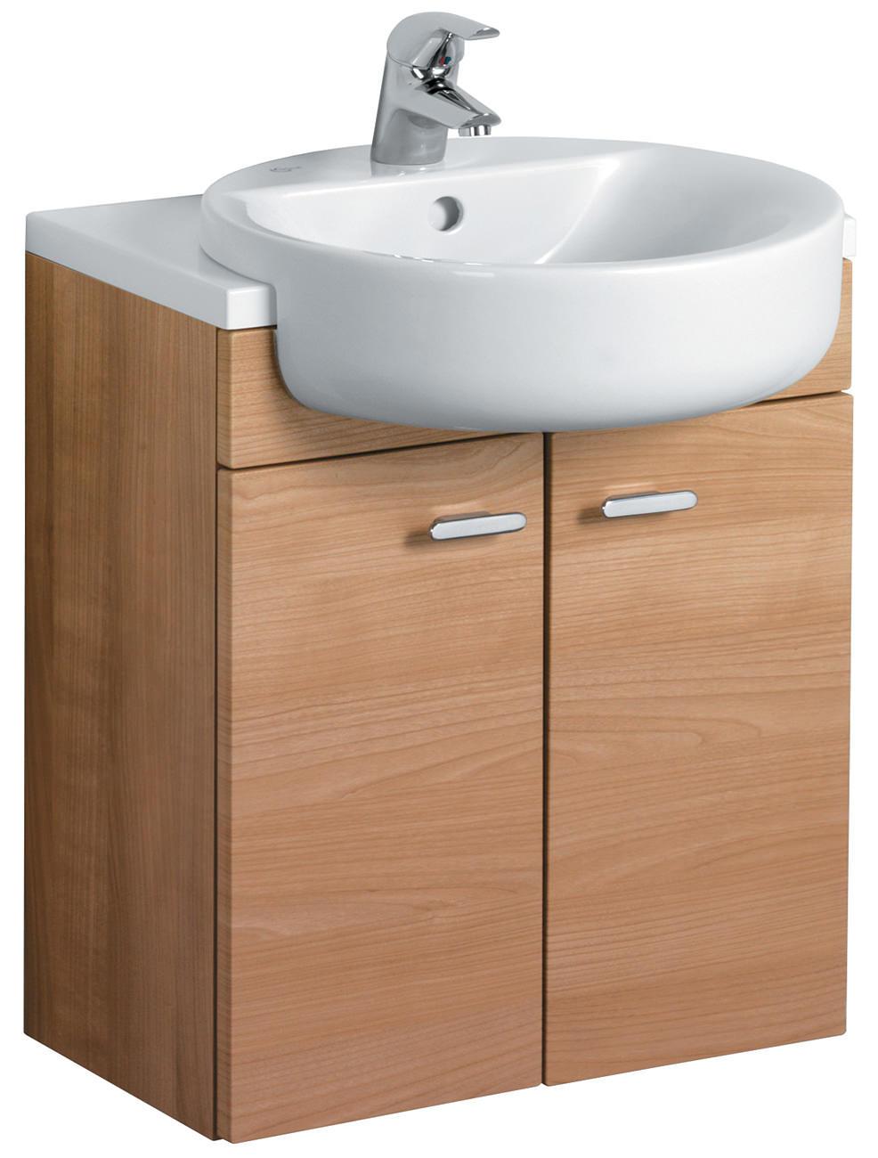 Standard Bathroom Vanity Height: Ideal Standard Concept Semi-Countertop Vanity Unit 600mm