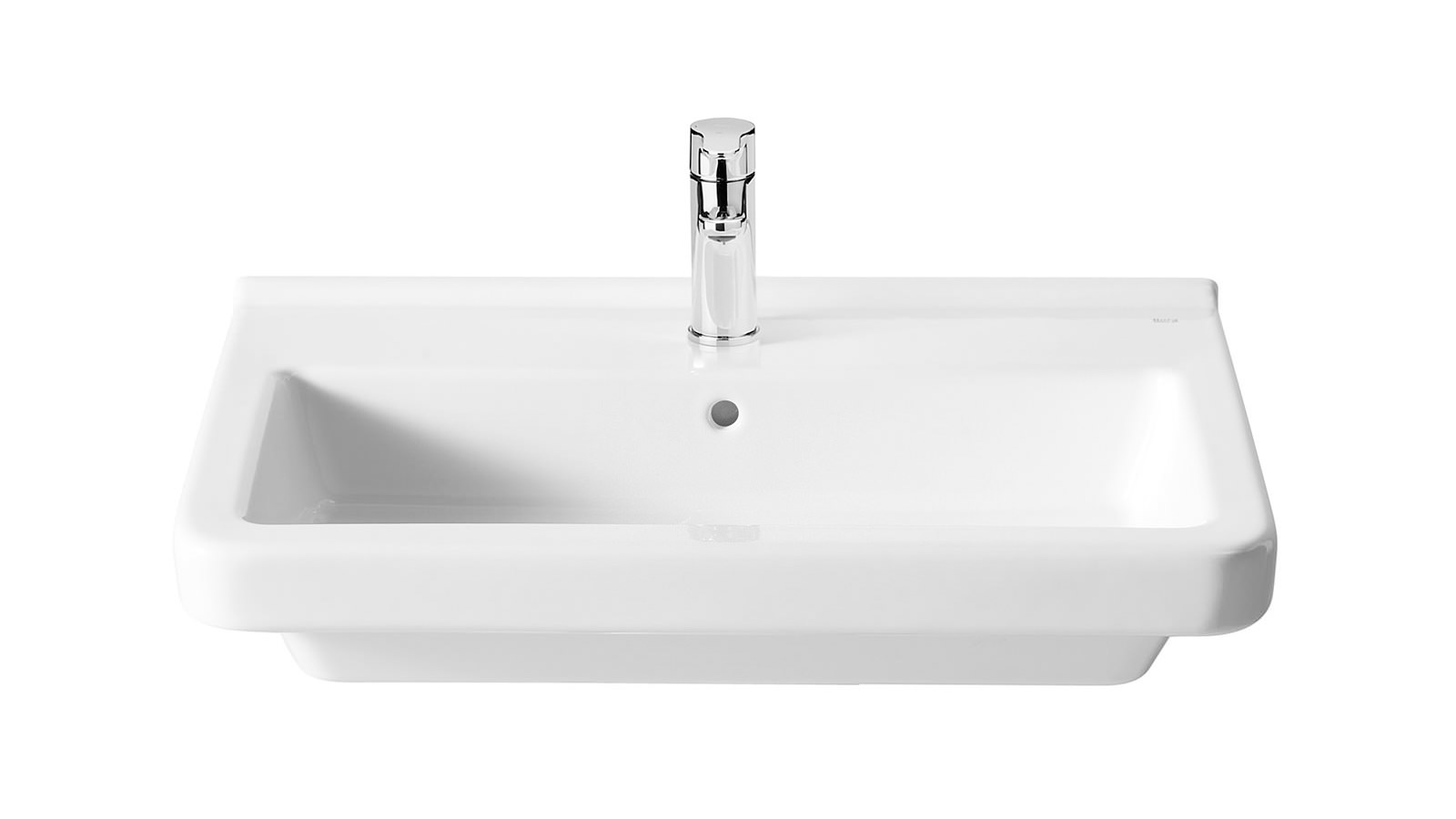 roca bathroom sinks roca dama n 1 tap basin 600mm 327784000 14235 | L 2015 1 20 12 13 36 452