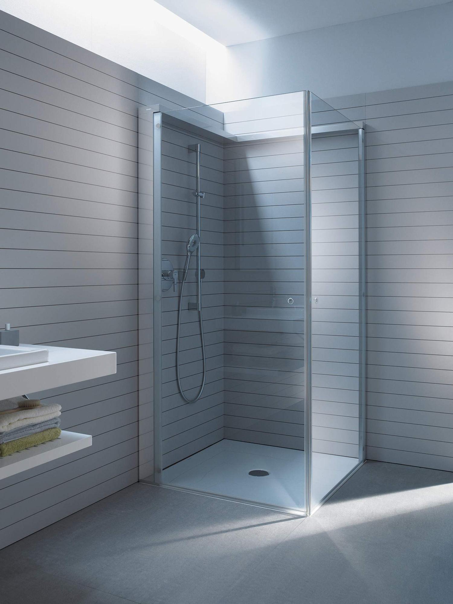duravit open space shower screen 1000mm shower tray tap. Black Bedroom Furniture Sets. Home Design Ideas