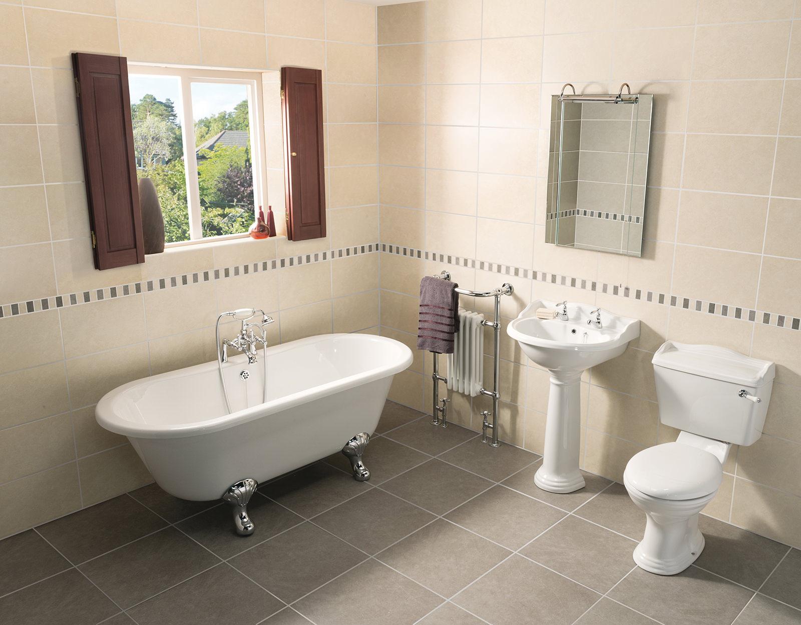 Beo regent traditional bathroom suite nca101 nca100 nts901 for Traditional bathroom photos