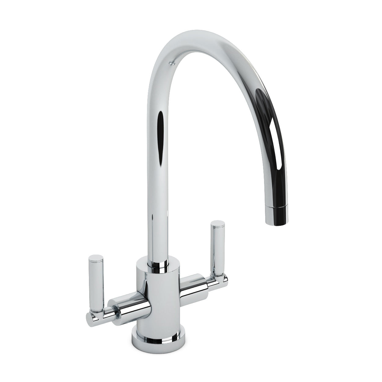 Abode Atlas Monobloc Kitchen Mixer Tap Chrome At1053