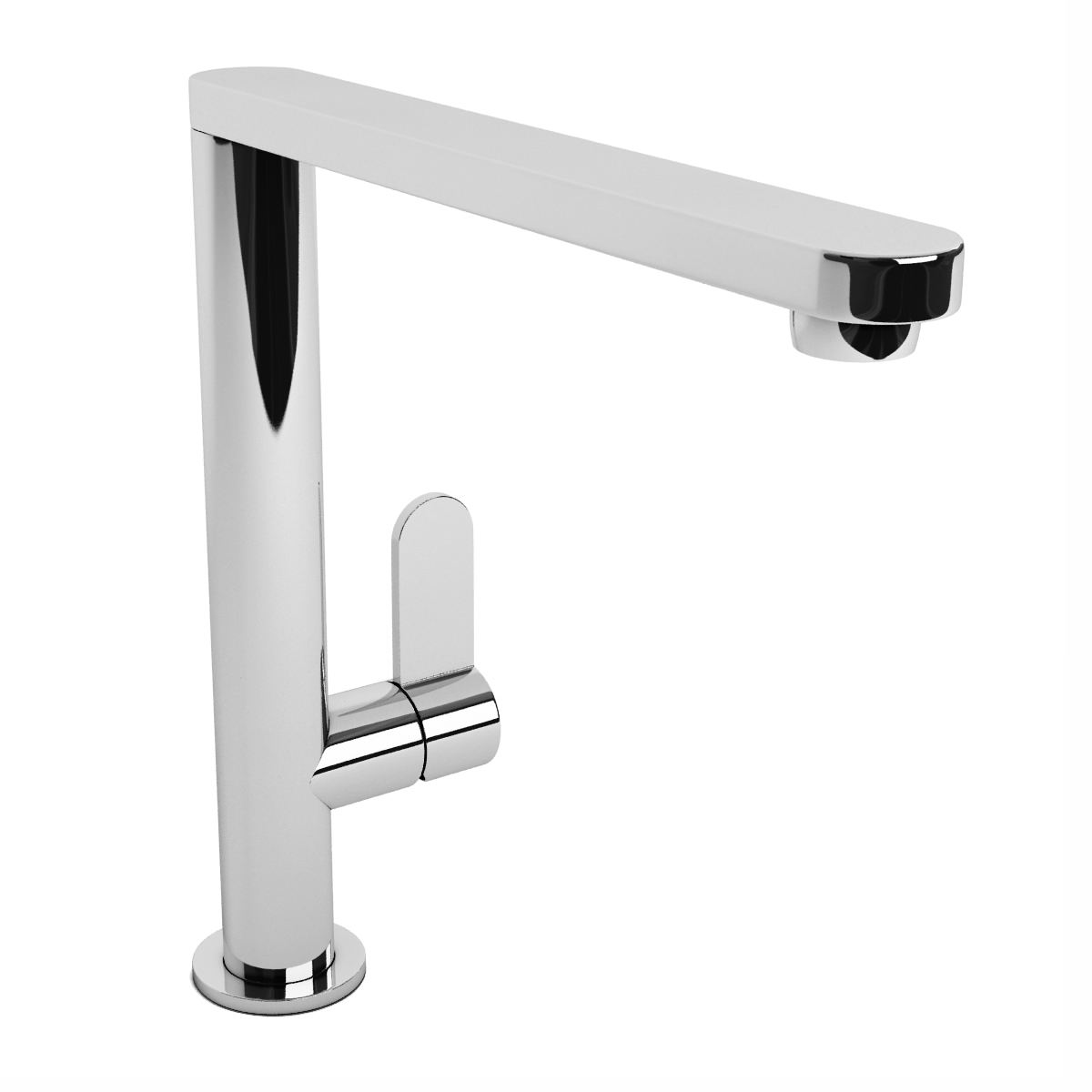 abode linear chrome single lever kitchen mixer tap. Black Bedroom Furniture Sets. Home Design Ideas