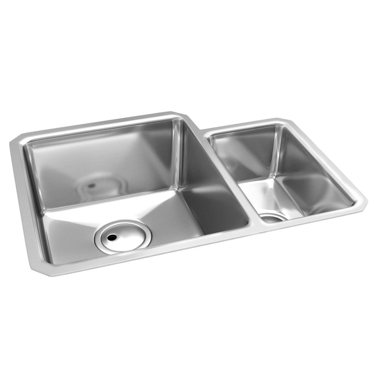 Abode Matrix R25 1.5 Bowl Undermount Kitchen Sink | AW5005
