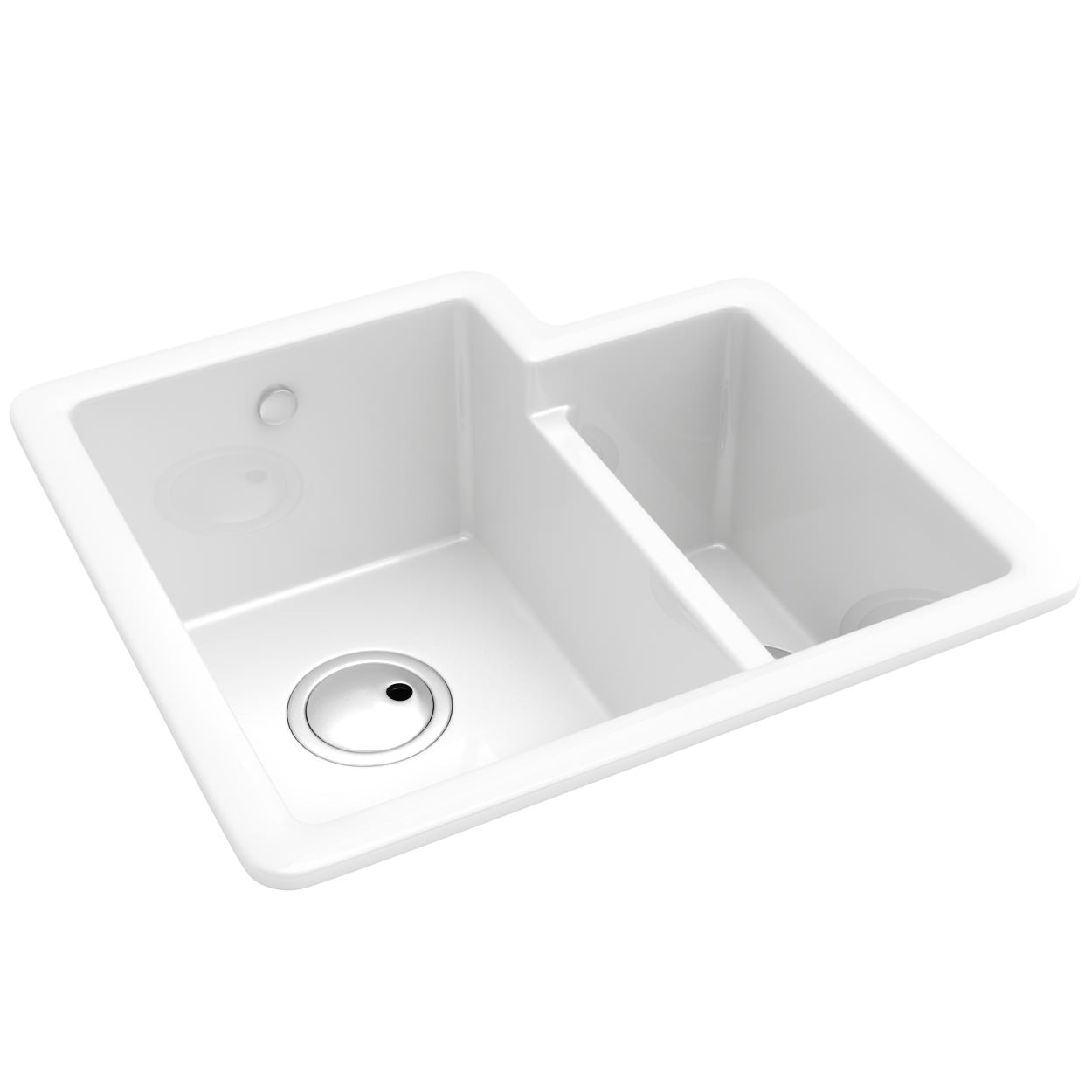 Matrix CR25 1.5 Bowl Ceramic Kitchen Sink   AW1010