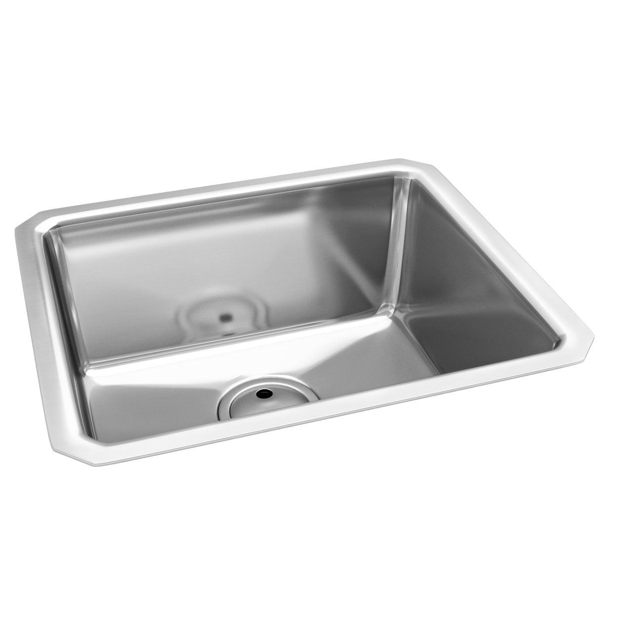 Abode Matrix R25 One Bowl Kitchen Sink 530 x 450mm | AW5003
