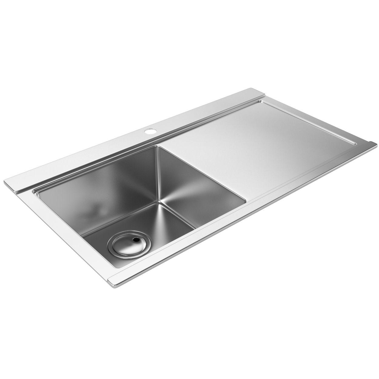 Abode Logik 1.0 Kitchen Sink - Inset Kitchen Sink | AW5019