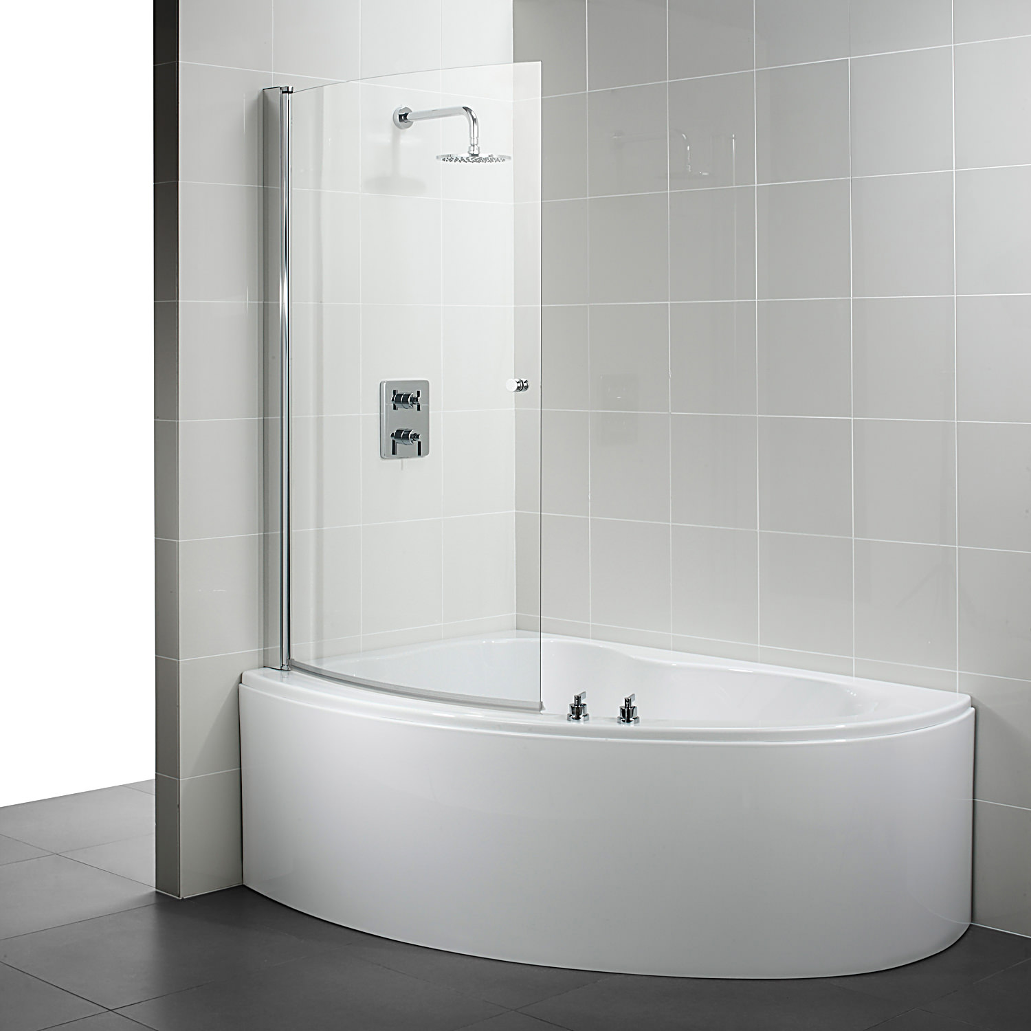 Ideal Standard Create Idealform Offset Corner Bath 1600 X 1050mm