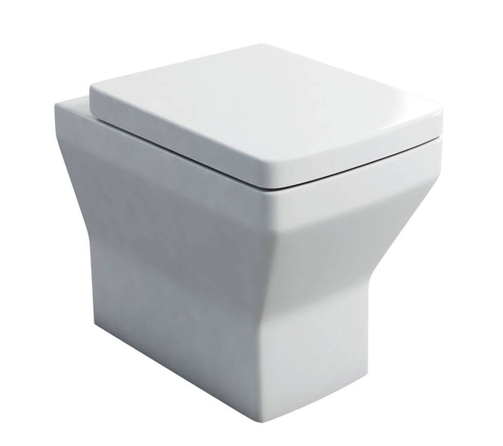 britton cube s20 back to wall wc pan and carbamide soft. Black Bedroom Furniture Sets. Home Design Ideas