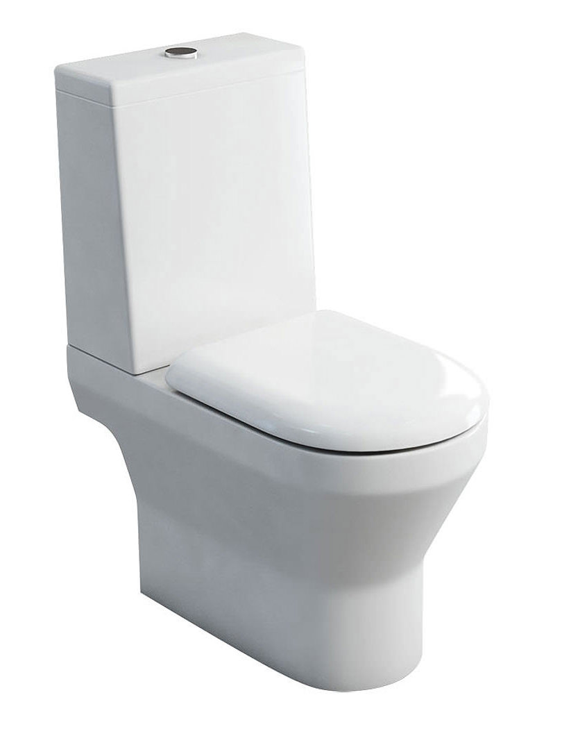 Britton Curve S30 Open Back Close Coupled Wc With Cistern