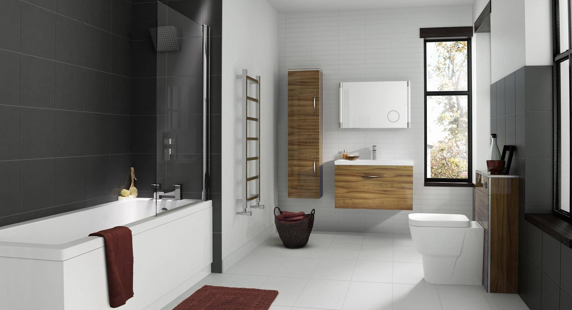 Hudson reed memoir complete bathroom suite for Bathroom suites