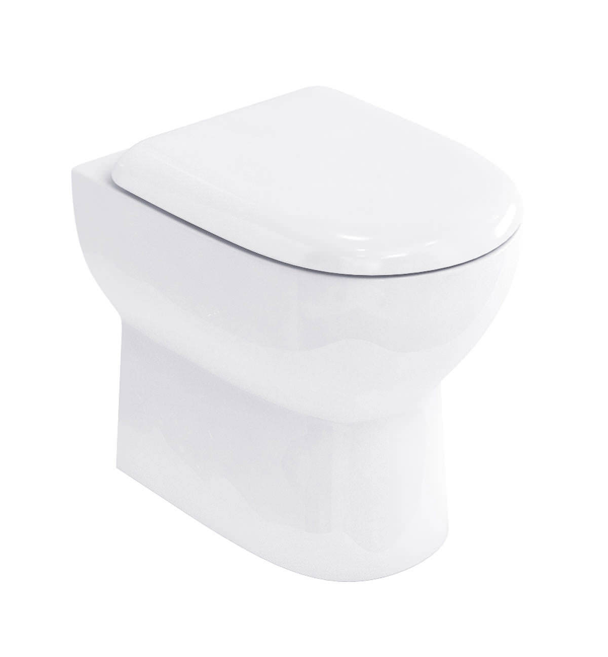 Britton Compact Back To Wall Pan With Soft Close Seat