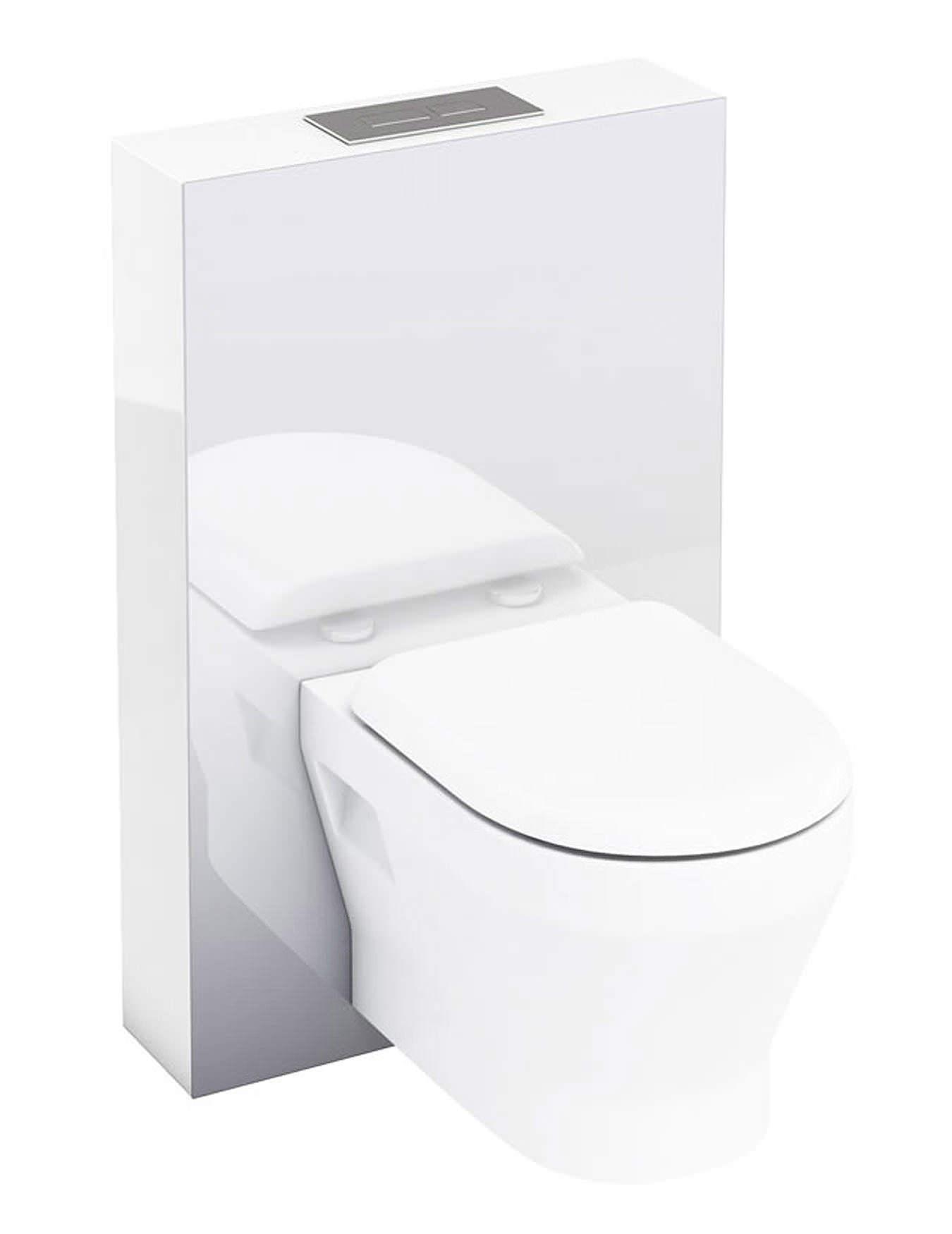 britton aqua cabinets tablet 550mm white wall hung wc unit. Black Bedroom Furniture Sets. Home Design Ideas
