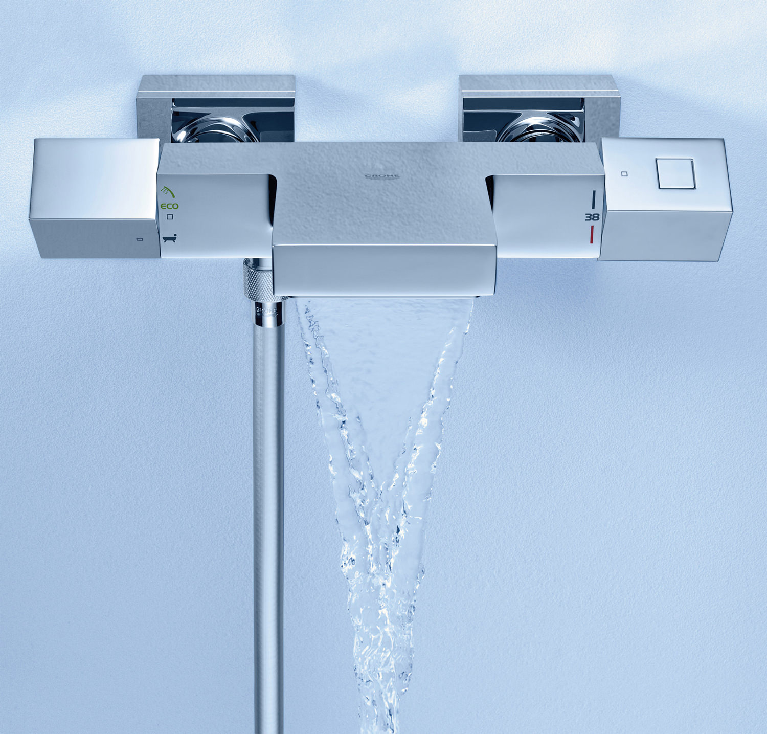 grohe grohtherm cube wall mount thermostatic bath shower grohe grohtherm 1000 thermostatic bath shower mixer achica
