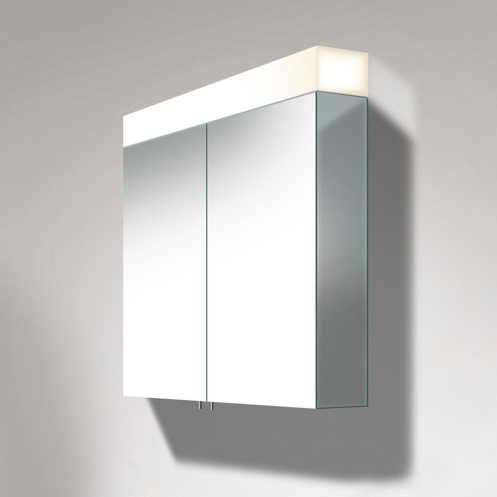 Duravit Vero 600mm 2 Door Mirror Cabinet With Led Lighting